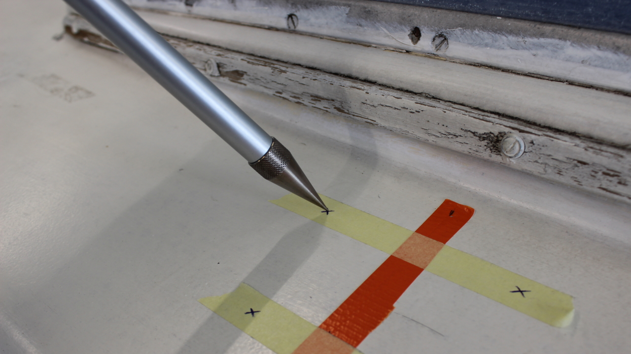 Proliner IPT - Point Pen tip - Easily measure behind obstacles and around borders