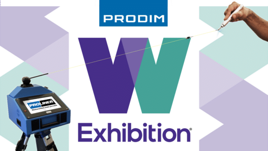 Prodim exhibiting at W Exhibition - Stand P1004